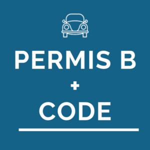 Permis B + Code de la route