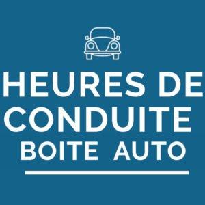 Heures de conduite boite automatique